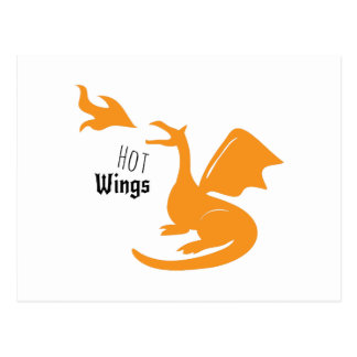 Hot Wings Postcard