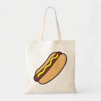 Hotdog Tote Bag