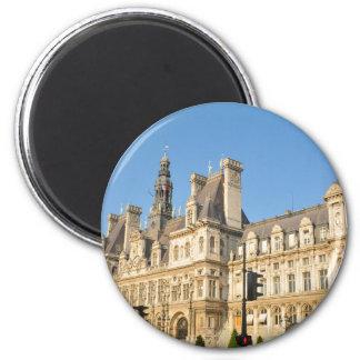 Hotel de Ville in Paris, France Magnet