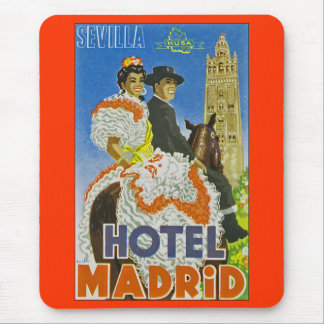 Hotel Madrid Mouse Pad