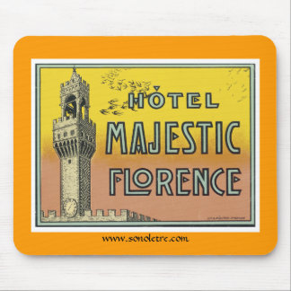 Hotel Majestic Florence Mouse Pad