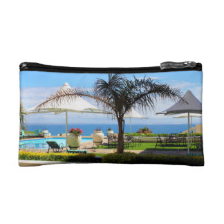 Hotel Swimming Pool and Gardens Cosmetic Bag