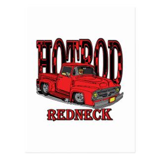 Hotrod Redneck Postcard