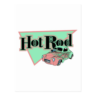 Hotrod With Flames Hot rod Gifts By Gear4gearheads Postcard