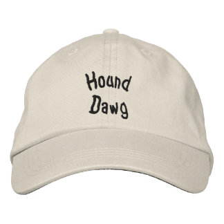 Hound Dawg Funny Embroidered Hat