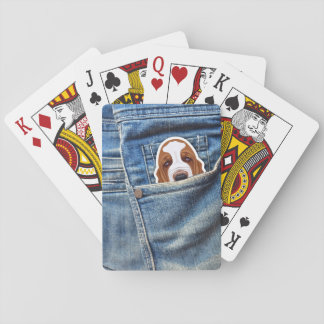 Hound in my pocket playing cards