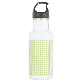 Houndstooth Mint and White 532 Ml Water Bottle