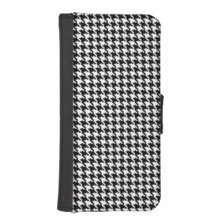 Houndstooth Pattern iPhone SE/5/5s Wallet Case