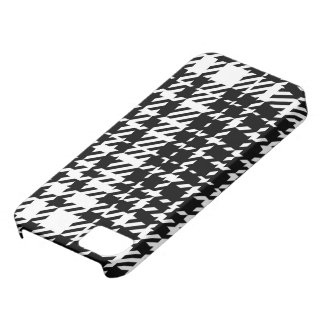 Houndstooth - Plaid iPhone 5 Cover