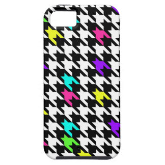 Houndstooth Pop 80s iPhone 5 Case