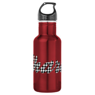 Houndstooth Print Name Sharon 532 Ml Water Bottle