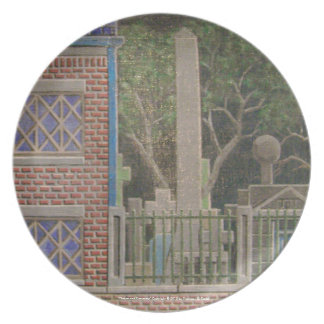 """""""House and Cemetery"""" Plate 2"""