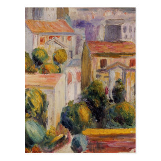 House at Cagnes by Pierre-Auguste Renoir Postcard