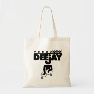 House DeeJay Tote Bag