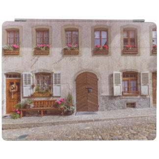 House in Gruyere village, Switzerland iPad Cover