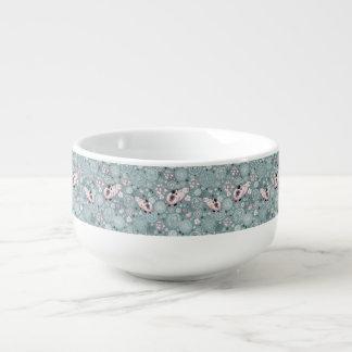House Kitty Pattern Soup Mug