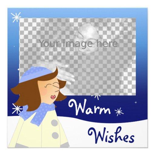 House Warming invitation + photo frame