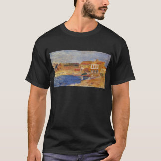 Houses by the Sea by Pierre-Auguste Renoir T-Shirt
