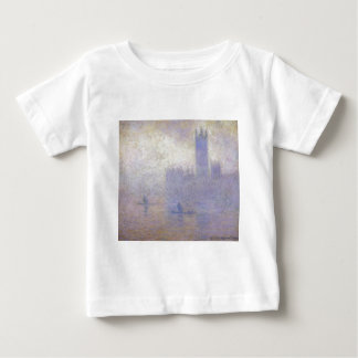 Houses of Parliament, Fog Effect by Claude Monet Baby T-Shirt