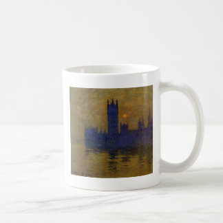 Houses of Parliament, Sunset 02 by Claude Monet Coffee Mug