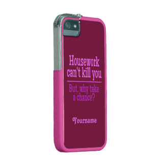 HOUSEWORK custom cases Cover For iPhone 5