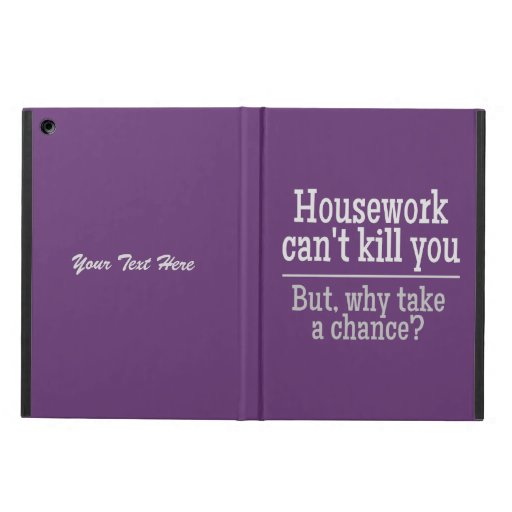 HOUSEWORK custom cases Cover For iPad Air