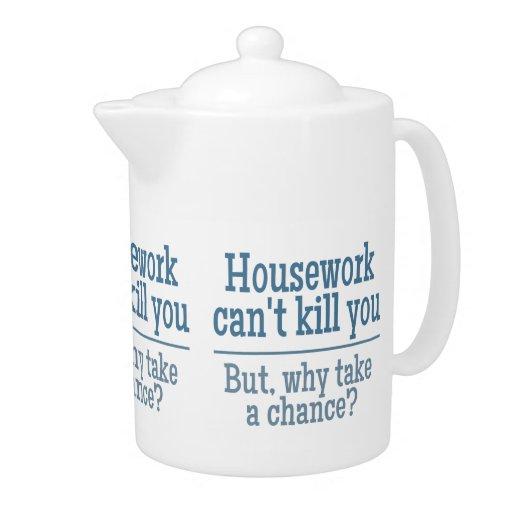 HOUSEWORK custom teapot