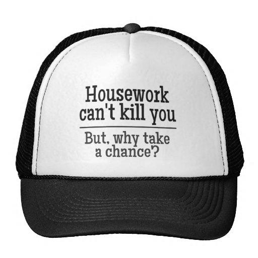 HOUSEWORK hat
