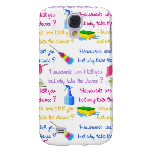 Housework iPhone 3G/3GS Case Samsung Galaxy S4 Covers