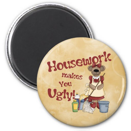 Housework Magnets