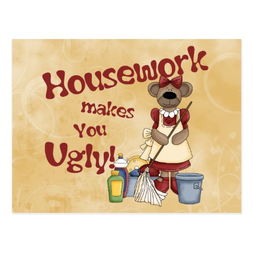 Housework Post Cards