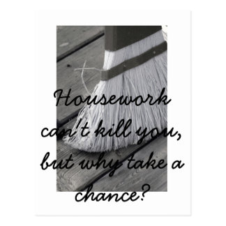housework Postcard