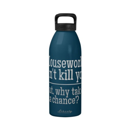 HOUSEWORK water bottle
