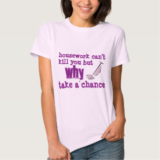 Housework Women's Basic T-Shirt