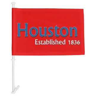 Houston Car Flag