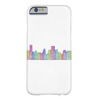 Houston city skyline barely there iPhone 6 case