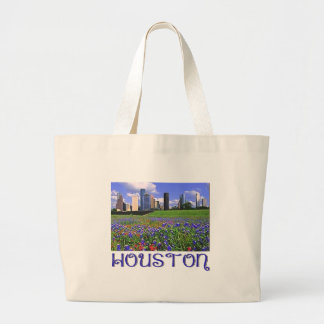 Houston Texas Bluebonnets Jumbo Tote Bag