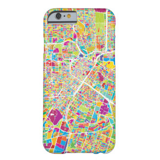 Houston, Texas | Neon Map Barely There iPhone 6 Case