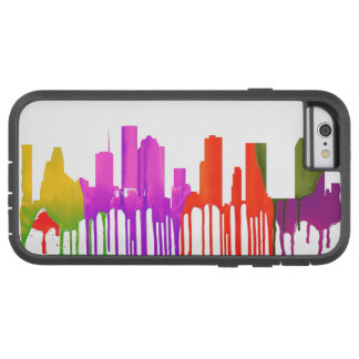 HOUSTON TEXAS SKYLINE PUDDLES - TOUGH XTREME iPhone 6 CASE