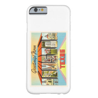Houston Texas TX Old Vintage Travel Souvenir Barely There iPhone 6 Case