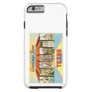 Houston Texas TX Old Vintage Travel Souvenir Tough iPhone 6 Case