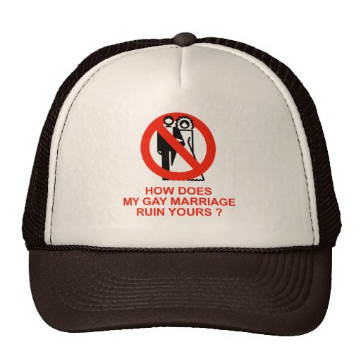 How does my marriage ruin yours hat
