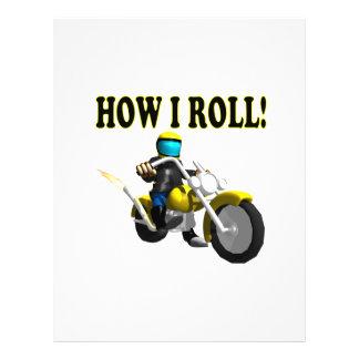 How I Roll Flyer Design