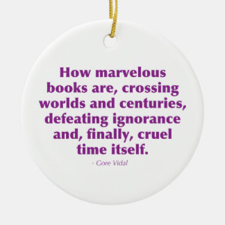 How Marvelous Books Are... Christmas Ornament