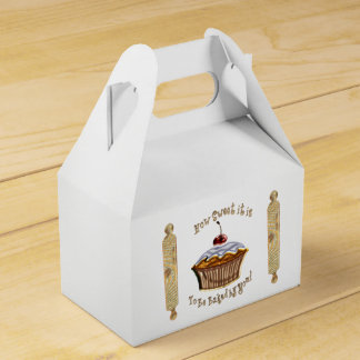How Sweet It Is To Be Baked By YOU! Party Favour Box