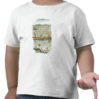 How the Indians Catch their Fish Tshirts