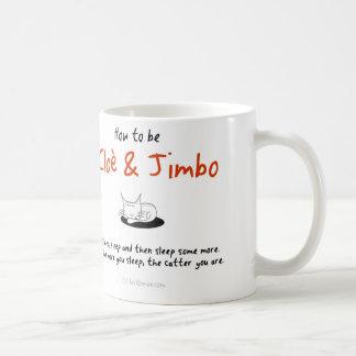 How to be a cat: Cloè & Jimbo Coffee Mug