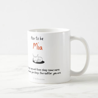 How to be a cat: Mia Coffee Mug