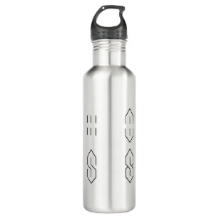 bee15cf48b How to Draw the Cool Pointy Super S Letter School 710 Ml Water Bottle