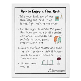 How to Enjoy a Fine Book Print